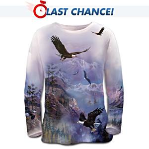 Ted Blaylock Eagle Art Women's Shirt