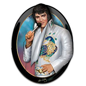 """Elvis """"Living Legend"""" Art Wall Sculpture"""