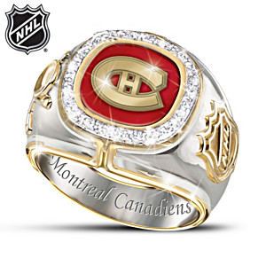 The Montreal Canadiens® 20-Diamond Ring