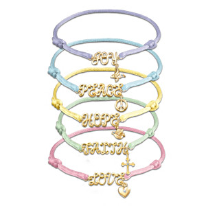 """Wishes From The Heart"" Bracelet Set"