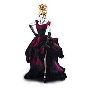 """The Contessa"" Poseable Dracula Bride Doll In Gothic Attire"
