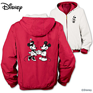 Disney Mickey And Minnie Reversible Women's Jacket