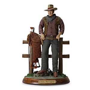 """Duke: The Legend"" John Wayne Commemorative Sculpture"
