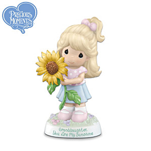 Precious Moments Bisque Porcelain Figurine For Granddaughter