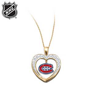 Reversible Montreal Canadiens® Pendant Necklace