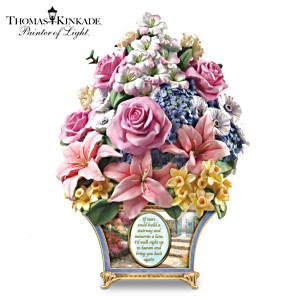 Thomas Kinkade Remembrance Floral Sculpture