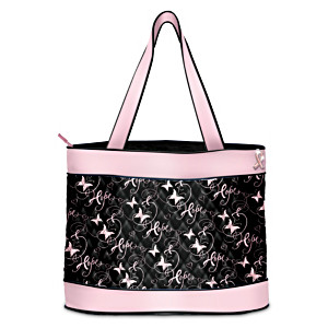 Hope Takes Flight Tote Bag With FREE Cosmetic Cases