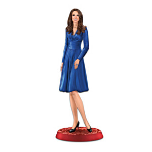 Kate Middleton Royal Engagement Figurine