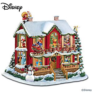 Disney Night Before Christmas Illuminating Story House