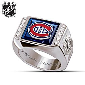 NHL® Montreal Canadiens® Logo Medallion Men's Ring