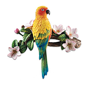 Sun Parakeet Wall Sculpture Aids Animal Life And Our Planet