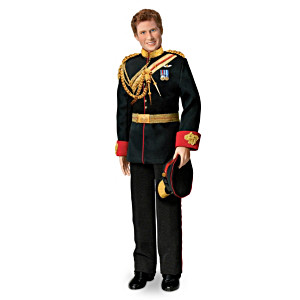 """Prince Harry"" Royal Wedding Commemorative Porcelain Doll"