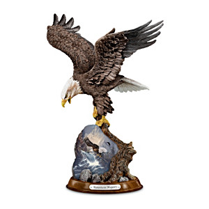 Eagle Sculpture Showcases Famed Ted Blaylock Art
