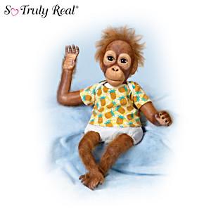 "Simon Laurens ""Baby Juma"" Lifelike Orangutan Baby Doll"