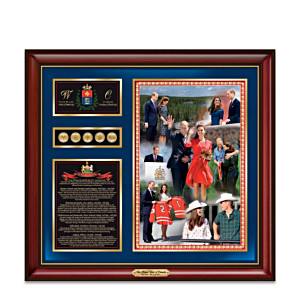 2011 Royal Tour Of Canada Commemorative Wall Decor