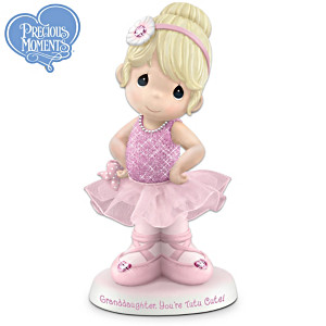 Precious Moments Porcelain Ballerina For Granddaughter