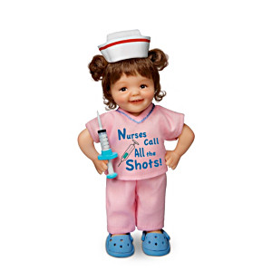 Cheryl Hill Lifelike Miniature Doll Honours Nurses