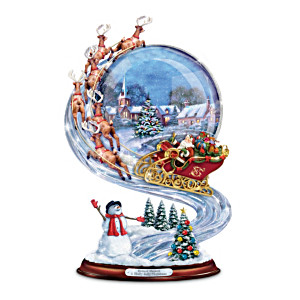 Richard Macneil Christmas Sleigh Ride Musical Sculpture