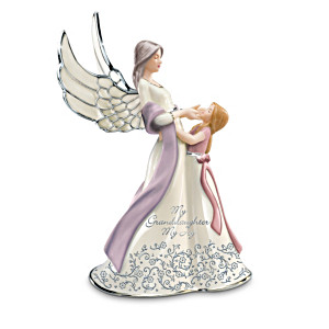 """My Granddaughter, My Joy"" Musical Figurine"