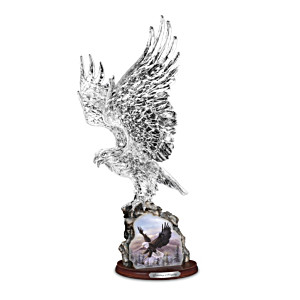 "Larry Martin ""Soaring Majesty"" Crystal Sculpture"