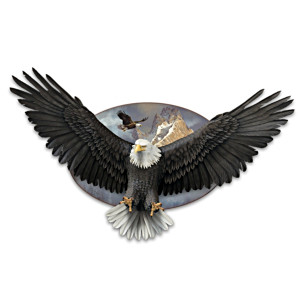 "Ted Blaylock ""Wings Of Power"" Eagle Art Living Sculpture"