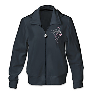 Embroidered Women's Hoodie Honoring Nurses