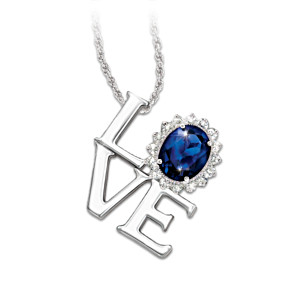 "Royal Wedding-Inspired ""Love"" Pendant Necklace"