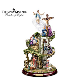 "Thomas Kinkade ""Life Of Christ"" Masterpiece Sculpture"