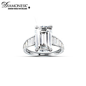 """The A-List Celebrity"" Diamonesk Women's Ring"