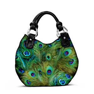 """Mindy Sommers """"Pretty As A Peacock"""" Shoulder Bag"""