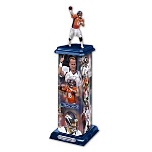 Denver Broncos Peyton Manning Illuminating Sculpture