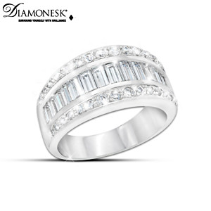 "The ""Diamonesk Delight"" 3-Carat Women's Ring"
