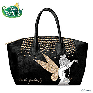 "Disney Tinker Bell ""Let The Sparkles Fly"" Handbag"