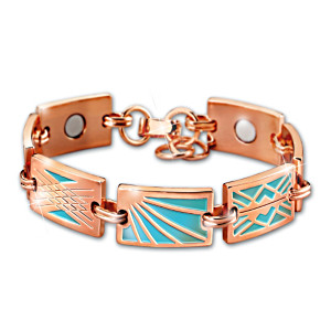 """Healing Rays"" Magnetic Copper Bracelet"