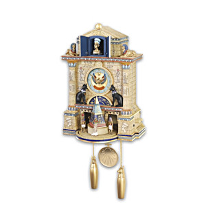 """Treasures Of Ancient Egypt"" Wall Clock"