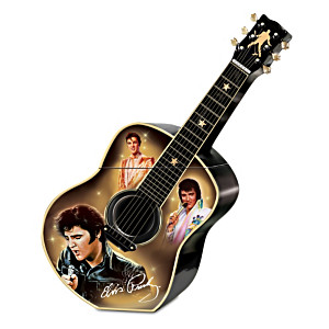 """Elvis A Taste Of Rock 'N' Roll"" Ceramic Cookie Jar"