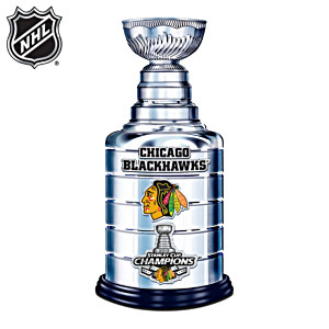 Blackhawks® 2013 Stanley Cup® Trophy Sculpture