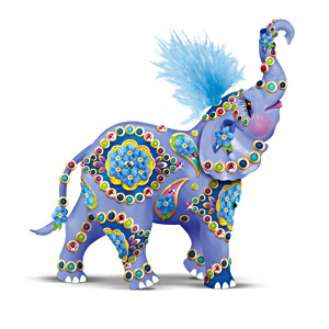 Margaret LeVan Elephant Figurine Helps Alzheimer's Research