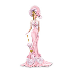 Dona Gelsinger Breast Cancer Awareness Lady Figurine