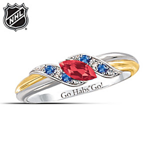 Montreal Canadiens® Pride Engraved Embrace Ring