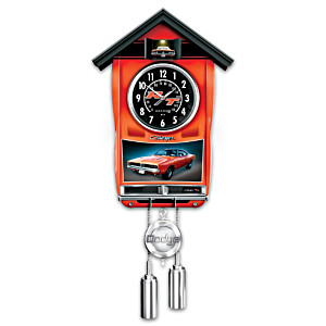 1969 Dodge Charger Wall Clock Lights Up And Car Revs
