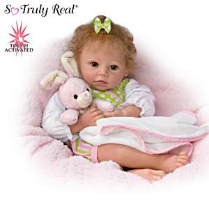 """Linda Murray """"Naptime Amelia"""" Interactive Baby Girl Doll"""