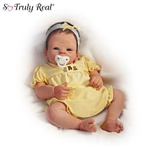 "Tasha Edenholm ""Boo Bear"" Lifelike Poseable Baby Doll"