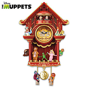 Disney The Muppet Show Wall Clock With Light And Sound