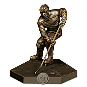 "Team Canada ""Unstoppable"" Cold-Cast Bronze Sculpture"