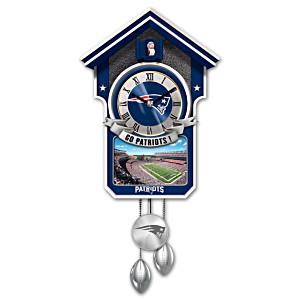 New England Patriots Tribute Wall Clock