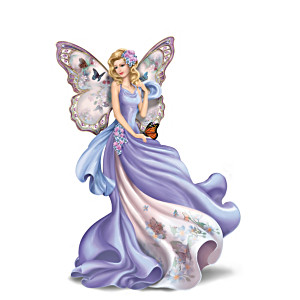 Lena Liu Fluttering Faith Alzheimer's Support Angel Figurine