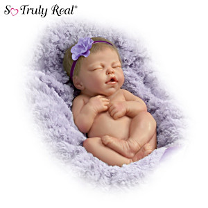 "Marita Winters ""Cuddle Me"" Lifelike Newborn Baby Doll"