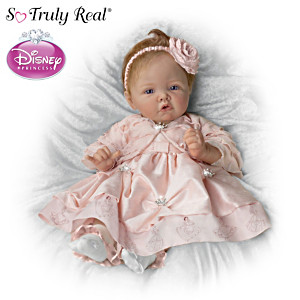 "Elly Knoops ""Pretty As A Princess"" Doll With Disney Art"