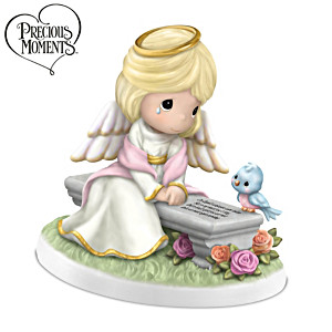 "Precious Moments ""Heaven's Embrace"" Remembrance Figurine"